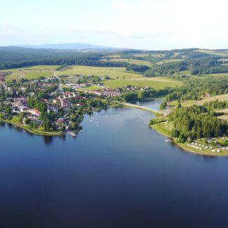 Camping Resort Frymburk - Luftbild