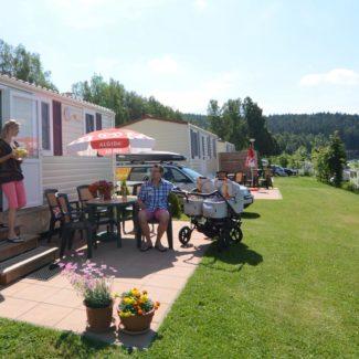 Camping Resort Frymburk - Mobilheime